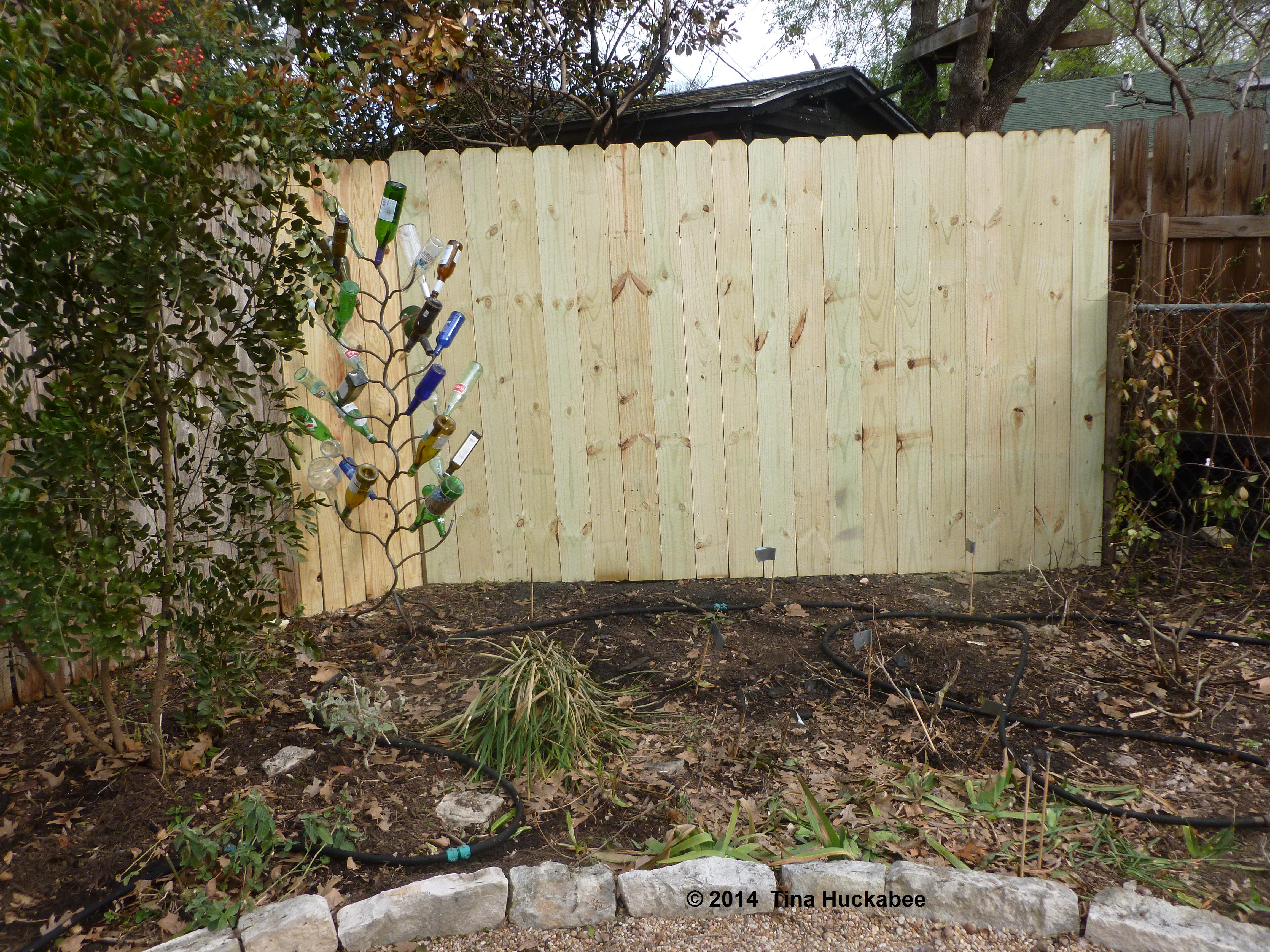 Lattice Screen Fence