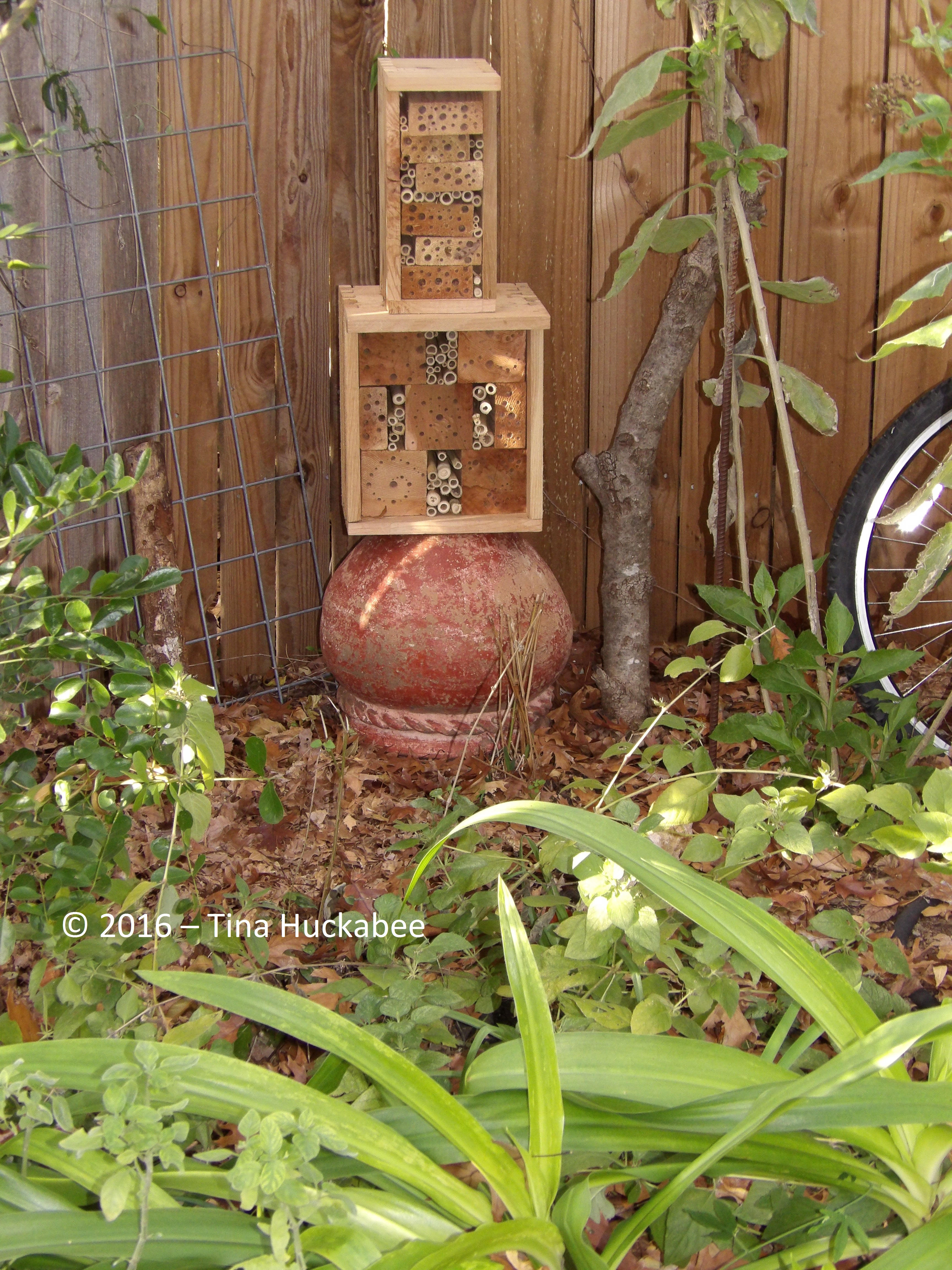 Insect Hotels | My Gardener Says…